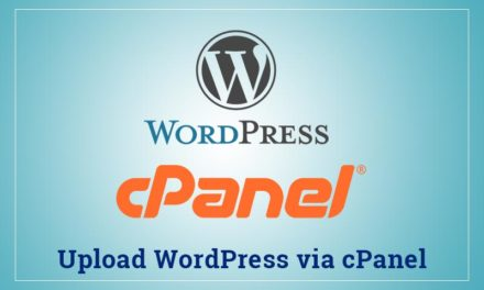 How to Upload WordPress via CPanel