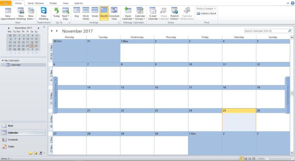 Calendar Can Make Life Easy