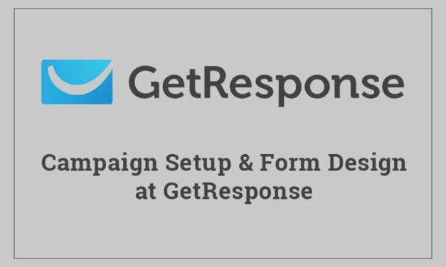 How to setup campaign in GetResponse?